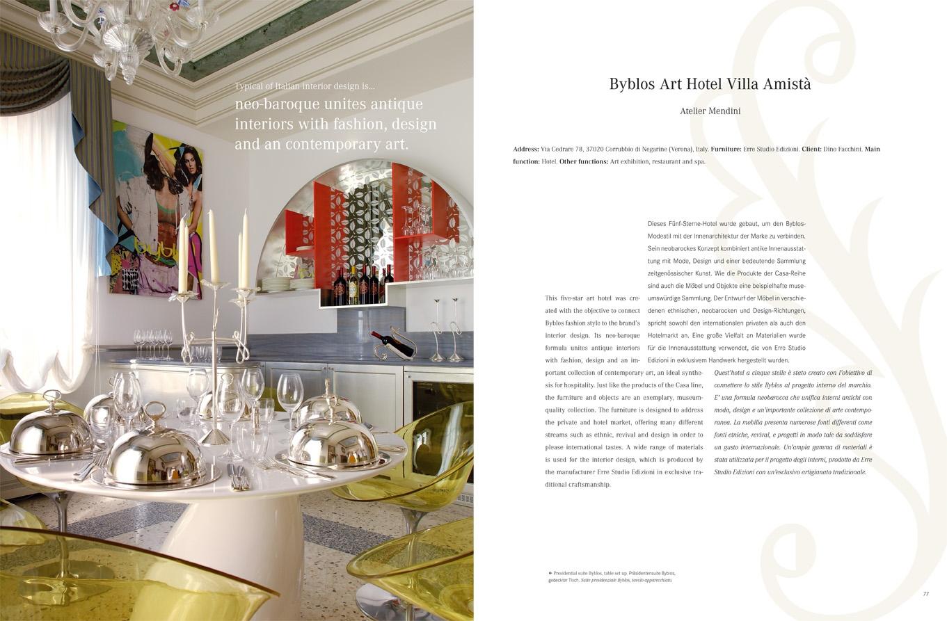 Italian Interior Design: Interior Design | Braun Publishing
