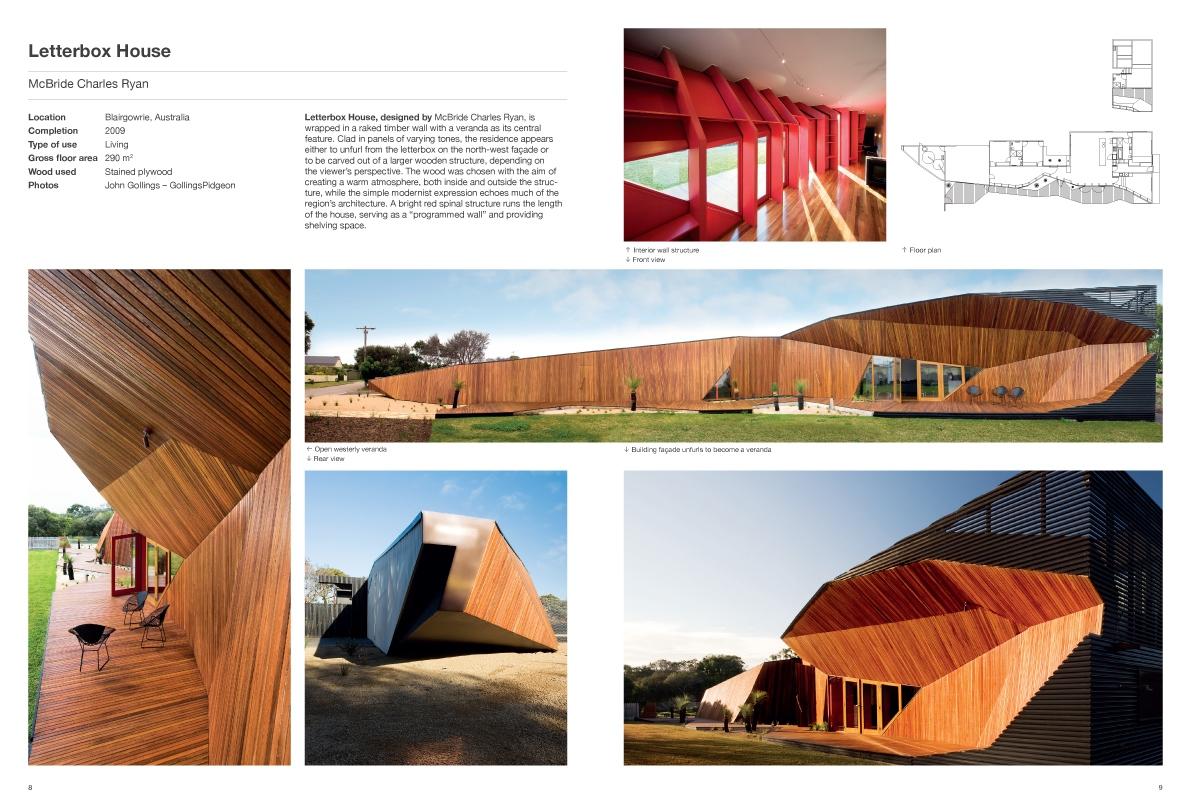 Wood Architecture Design Architecture Braun Publishing - Letterbox-house-in-blairgowrie-australia