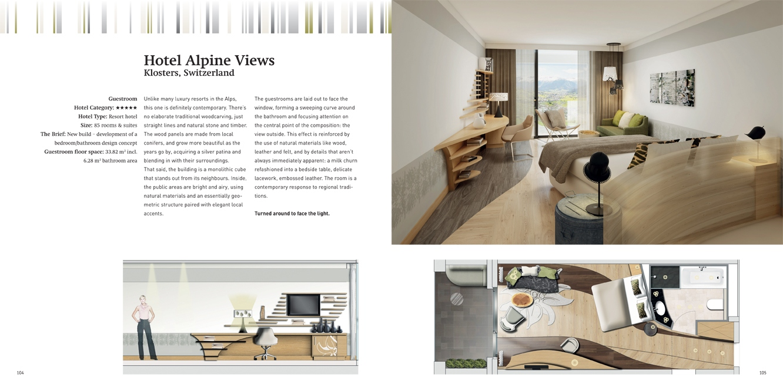 101 hotel rooms vol 2 interior design braun publishing for Design hotel 101