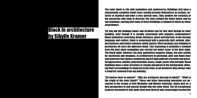 Black architecture architecture braun publishing black architecture biocorpaavc Image collections