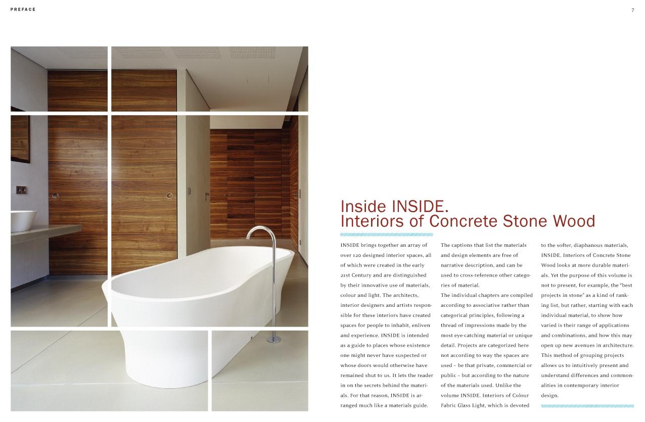 Interiors Of Concrete Stone Wood